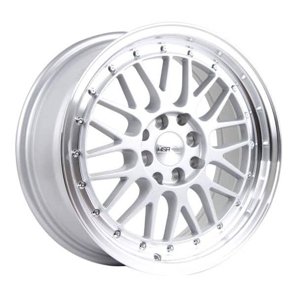 HSR Lemans 306 Ring 16x7 H8x100-114,3 ET38 Silver Machine Lip