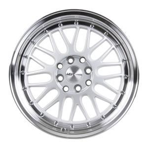 HSR Lemans 306 Ring 17x7,5 H8x100-114,3 ET38 Silver Machine Lip (1)