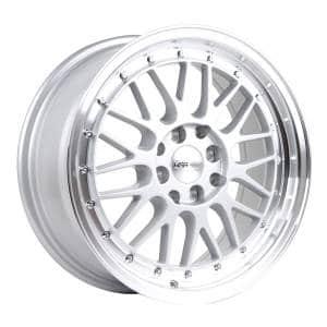 HSR Lemans 306 Ring 17x7,5 H8x100-114,3 ET38 Silver Machine Lip