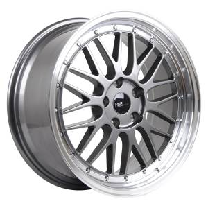 HSR Lemans 306 Ring 18x8 H5x114,3 ET35 Grey Machine Lip