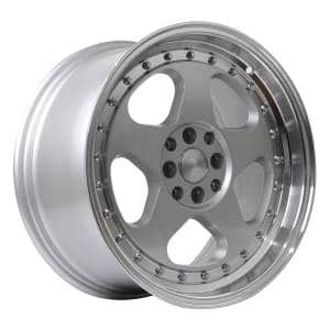 HSR Loud JD805 HSR Ring 17x7,5-8,5 H8x100-114,3 ET45-35 Silver Machine Lip