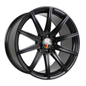 HSR Lubeck AM1047 Ring 19x8,5-9,5 H5x112 ET43 Semi Matte Black