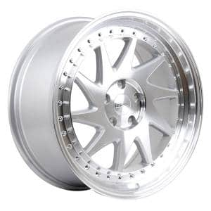 HSR Ozora 707 Ring 19x8,5 H5x114,3 ET35 Silver Machine Face