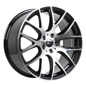HSR Radix 710 Ring 19x8,5 H5x114,3 ET42 Black Machine Face