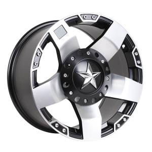 HSR Rasta JT5137 Ring 17x9 H10x114,3-127 ET20 Semi Matte Black Machine Face