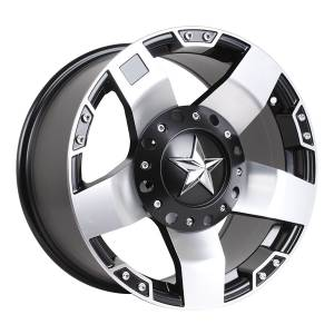 HSR Rasta JT5137 Ring 17x9 H6x139,7 ET20 Semi Matte Black Machine Face
