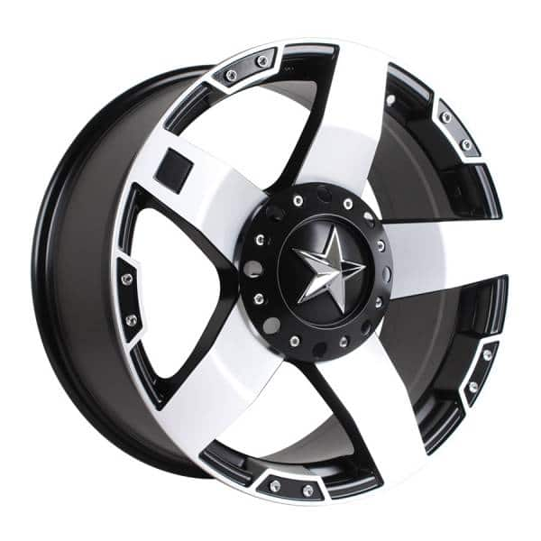 HSR Rasta JT5137 Ring 20x9 H10x114,3-127 ET20 Semi Matte Black Machine Face