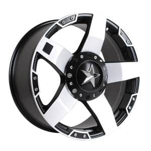 HSR Rasta JT5137 Ring 20x9 H6x139,7 ET20 Semi Matte Black Machine Face