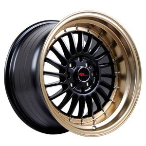 HSR SC 01 1120 Ring 16X8-9 H8X100-114,3 ET30-25 Black Bronze Lips