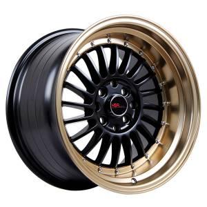 HSR SC 01 1120 Ring 16X8-9 H8X100-114,3 ET30-25 Black Bronze Lips