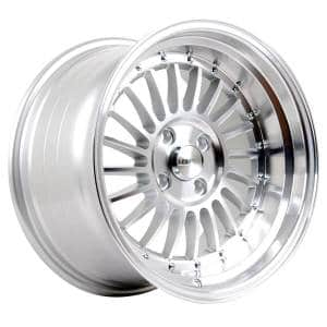 HSR SC 01 1120 Ring 16X8-9 H8X100-114,3 ET30-25 Silver Machine Face