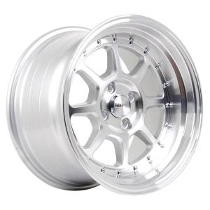 HSR SC 03 8003 Ring 16X8-9 H8X100-114,3 ET30-25 Silver Machine face