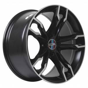 HSR Schwarz BW5377 HSR Ring 18x8-9 H5x120 ET35 Semi Matte Black Machine Face