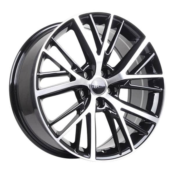 HSR Twilight TY0185 Ring 19x8 H5x114,3 ET30 Black Machine Face