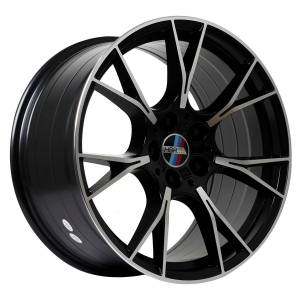 HSR Wurzel BW7046 HSR Ring 19x8,5-9,5 H5x120 ET35 Semi Matte Black Machine Face