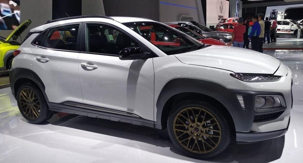 Begini Jadinya Tampilan Hyundai Kona Dengan Velg HSR Wheel