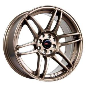 HSR Waver JD8604 Ring 17x8-9 H8x100-114,3 ET38-25 Semi Matte Bronze1