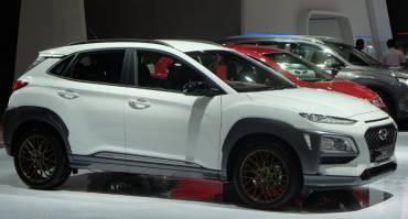 Hyundai Kona Menggunakan Velg HSR Wheel