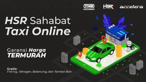 Promo Ban dan Velg Murah Untuk Taksi Online