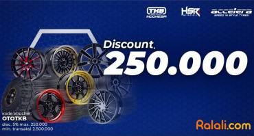 Beli Velg HSR Wheel di Ralali Diskon 250 Ribu!