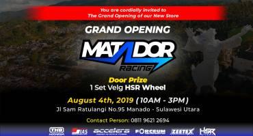 Grand Opening TKB Cabang Manado, Matador Racing
