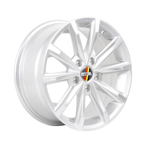 HSR Galore L981 R16X7 H5X112 ET45 Silver