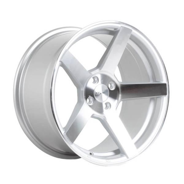 HSR NE3 JD5068 Ring 17x7 Hole 4x100 ET 45 Silver Machine Face