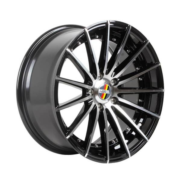 HSR Reptile H1020 R18X8,5 H5X114,3 ET38 Black Machine Face