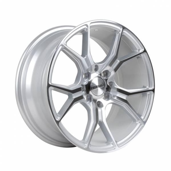 HSR Voodoo H59783 R17X7,5 H8X100-114,3 ET40 Silver Machine Face