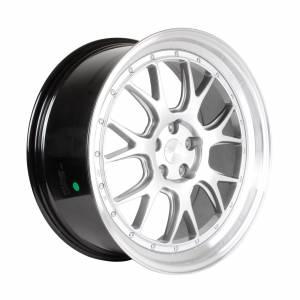 HSR Wheel Brisket B7027F13 Ring 21X9 Hole 5X1143 ET40 Hyper Silver Machine Lip