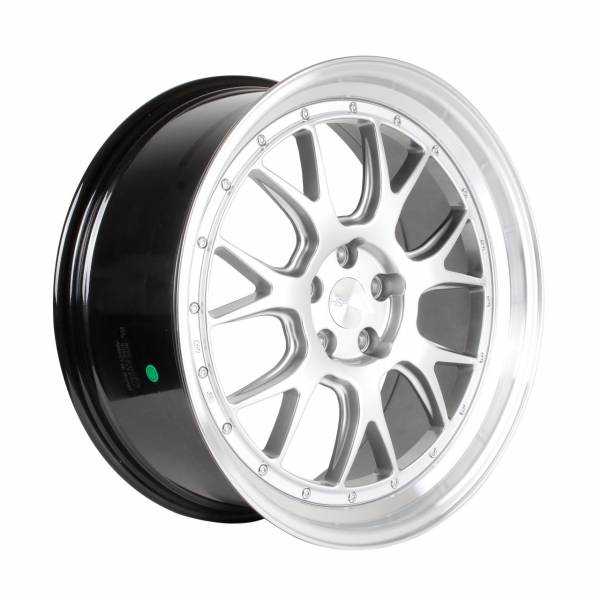 HSR Wheel Brisket B7027F13 Ring 21X9 Hole 5X1143 ET40 Hyper Silver Machine Lip
