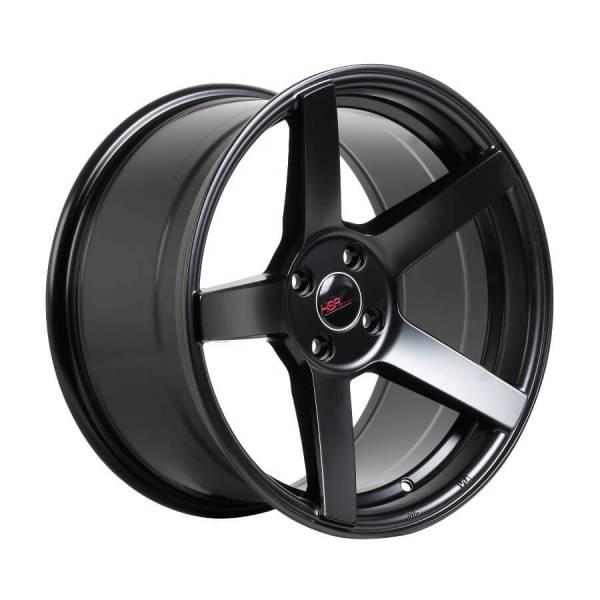 HSR Wheel NE3 JD5068 Ring 17x7-9 H4x100 ET45-35 Semi Matte Black