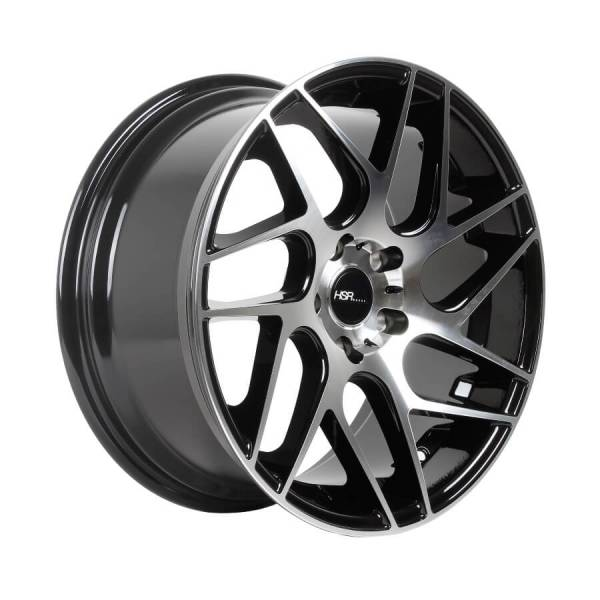HSR Wonder H961 R18X,8,5 H5X114,3 ET45 Black Machine Face