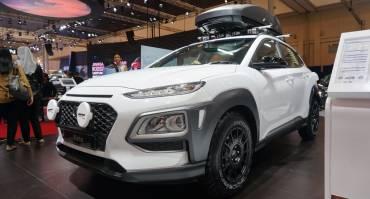 Hyundai Kona Ala Off Road di GIIAS Pakai Velg HSR Wheel