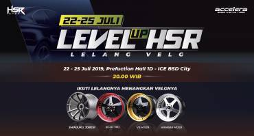 GIIAS 2019 Lelang Velg HSR Wheel