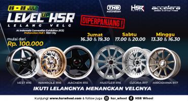 Lelang Velg HSR Wheel di GIIAS 2019 Diperpanjang!