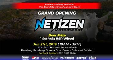 Grand Opening TKB Cabang Makassar, Netizen Motorsport