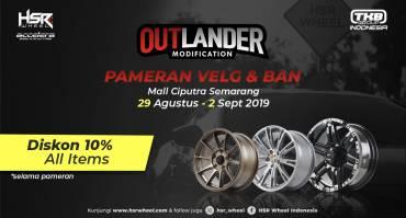 Ayo Datang ke Pameran Velg dan Ban di Mall Ciputra Semarang