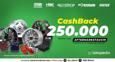 CASHBACK 250 RIBU Velg HSR Wheel Di Tokopedia