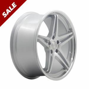 HSR AC5 9981F Ring 19X8,5 H5X114,3 ET42 Silver Machine Face + Lips