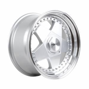 HSR Aachen L248 R17X10 H10X114,3-120 ET30 Silver Machine Lips