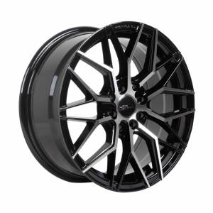 HSR Botawa 7236 R16X7 H8X100-114,3 ET45 Black Machine Face