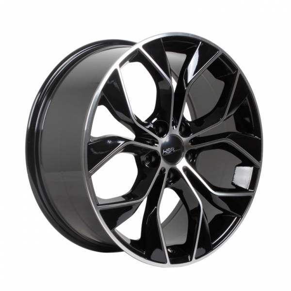 HSR Carsten 75205 R19X8,5 H5X114,3 ET42 Black Machine Face