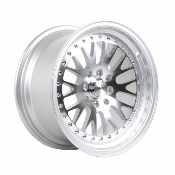 HSR Classic H215 R16X8-9 H8X100-114,3 ET25-20 Silver Machine Face