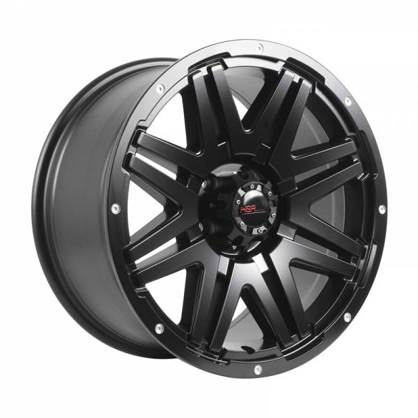HSR Conquest 88068 Ring 18x9 H5x114,3 ET35 Semi Matte Black