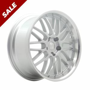 HSR Deli JZ1099 Ring 19X8-9 H5X120 ET40 Silver Machine Lips