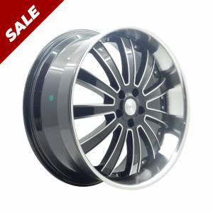 HSR Dynamic JZ902 Ring 22x9,5 H5x114,3 ET42 Black Machine Face