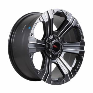 HSR EMG-902 Ring 20X9 H5X114,3 ET+30 Full Black Machine
