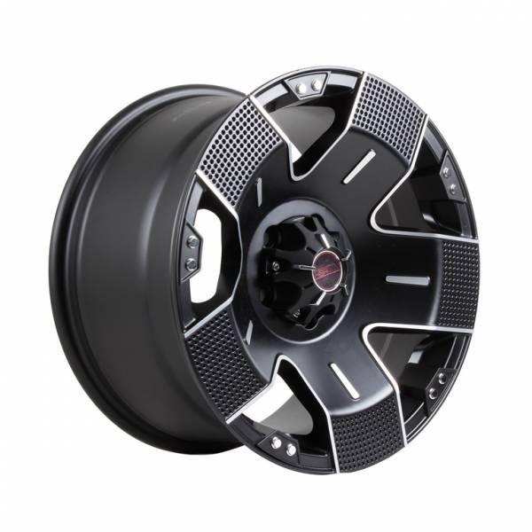 HSR EMR-901 Ring 17X9 H5X114,3 ET+30 Full Black Machine