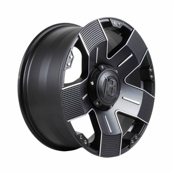 HSR EMR-901 Ring 20X9 H6X139,7 ET+15 Full Black Machine